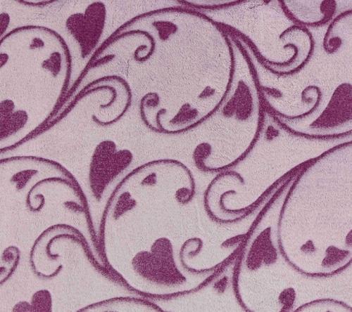 印花法兰绒