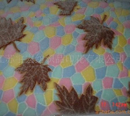 珊瑚绒印花系列